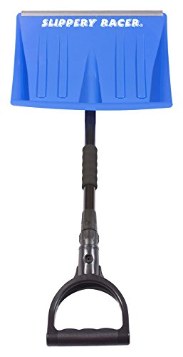 Slippery Racer Retractable Snow Shovel, Blue by Slippery Racer