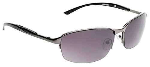 Zoo York Semi-Rimless Rectangle Sunglasses One Size - Rectangle Rimless Sunglasses