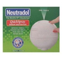 TRIPLE PACK of Neutradol Quick Spray 50ml