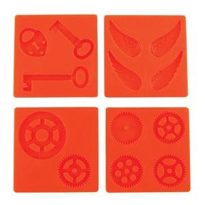 Fuseworks Polar Fuse Glass Casting Molds, Steampunk