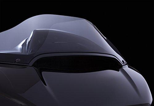 Center Windshield Trim (Black) for Harley Davidson Road Glide