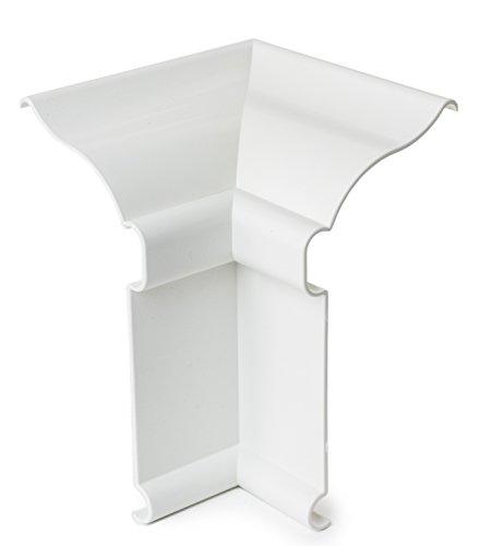 PlastxUSA PLX-BBICWH Better Baseboard Cover Inside Corner, ()