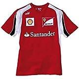 FERRARI Camiseta niño Escudería F1 2012 Rojo Talla 14: Amazon.es ...