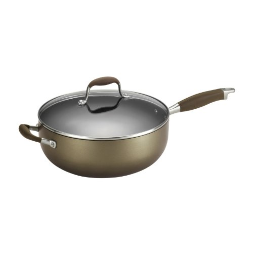 Anolon Advanced Bronze Nonstick 6.5-Quart Covered Chef