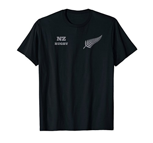 Mens New Zealand Rugby T Shirt for Rugby Dads - New Zealand Rugby Shirts