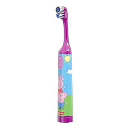 Amazon.com: Colgate Kids battery powered toothbrush, peppa pig (Pack of 12): Beauty