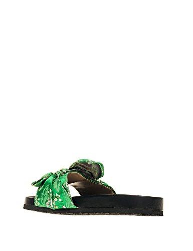 Green Detail Women's Slides Rio DESIRE PUBLIC Dow UFxqYnC