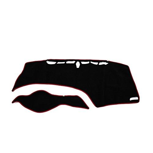 uxcell Car Dash Sun Cover Dashboard Dashmat Mat Carpet Pad for 2012-2015 9th Gen Honda Civic - Honda Civic Dash Cover Mat
