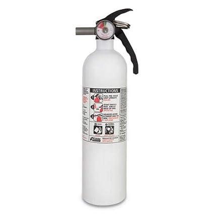 Amazon Com Kidde 21005357 Fx10k Fire Extinguisher 10 B C White