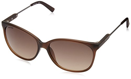 Fastrack Wayfarer Men Sunglasses (P346BR2|63|Brown)