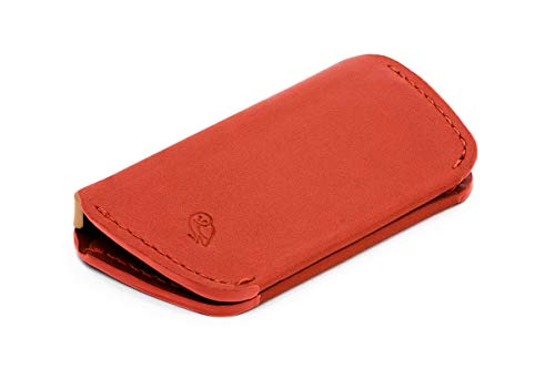 - Bellroy Leather Key Cover (Max. 4 keys) - Tangelo