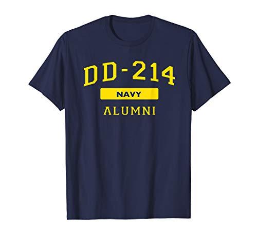 US Navy DD-214 Veteran American DD214 Alumni Gift U.S. Hero T-Shirt