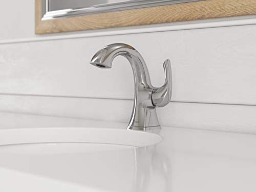 Pfister LG42-BS0C Bronson Single Control Bathroom Faucet, Polished Chrome