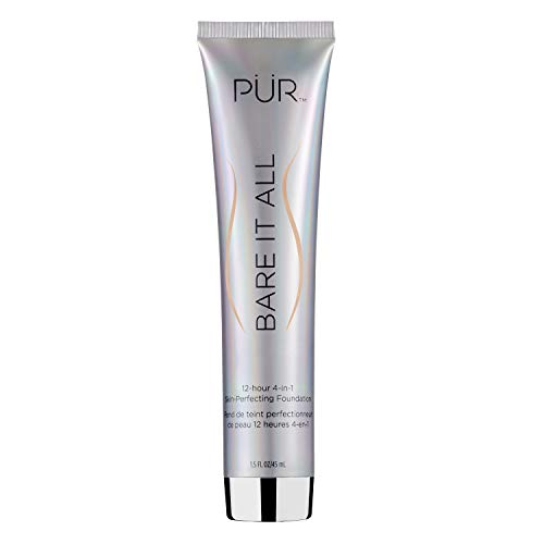 PÜR Bare It All 4-in-1 Skin-Perfecting Foundation, Light, 1.5 oz.