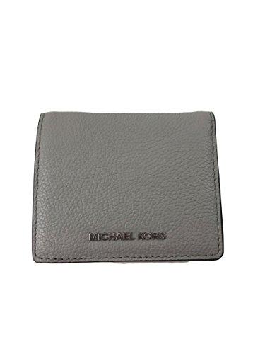 b07745496efb Wallets Michael Kors Mercer Leather Carryall Card Case Pearl Grey ...