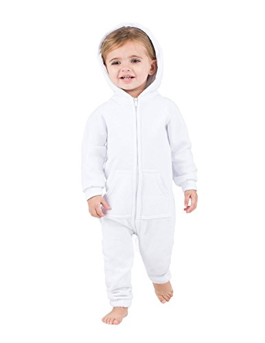 y Matching White Frosting Infant Footless Hoodie One Piece-Extra Large (Footless One Piece)