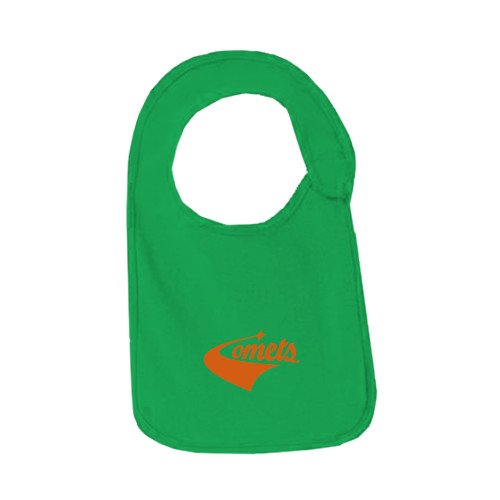 UT Dallas Kelly Green Baby Bib 'Official Logo' by CollegeFanGear