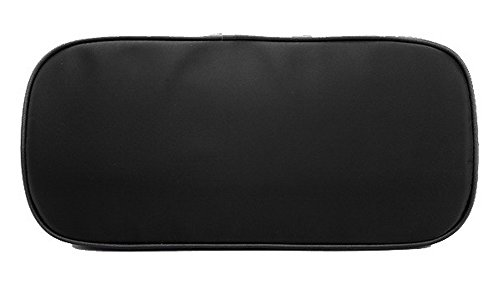 Odomolor Cross Dacron Fiesta de Body Mano Bolsas Handbags Mujeres Negro Negro Compras ROPBL181616 ra4Bwqr