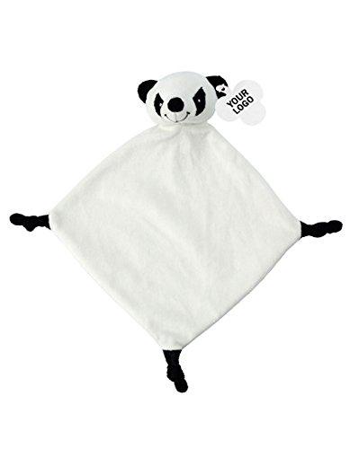 Peluche de manta Toalla Peluche schmusetuch Peluche negro panda: Amazon.es: Bebé