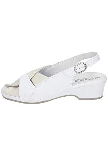 Comfortabel Mujeres Sandal White Beige