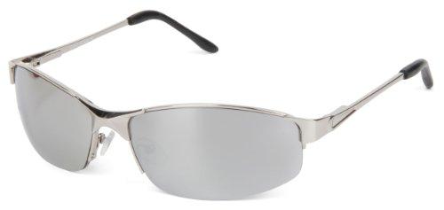 styleBREAKER klassische Sonnenbrille mit schmalen, eckigen Gläsern und Federscharnier, Unisex, UV 400 Schutz 09020045, Variante-2