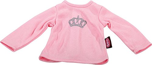 Gotz Basic Boutique Pink Long Sleeved Royal T-Shirt for 16.5