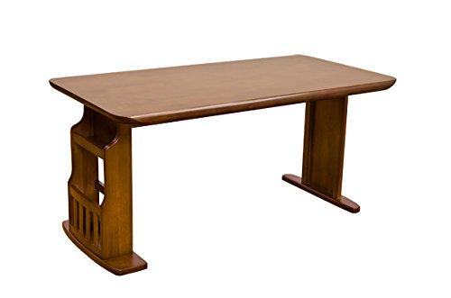 ダイニングテーブル 150cm BRISTOL 収納付ブラウン HTT-06BR B00SGT50I4