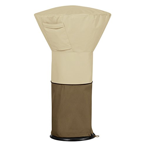 Classic Accessories 55-571-011501-00 Veranda Round Table Top Patio Heater Cover (Heater Well Cover)