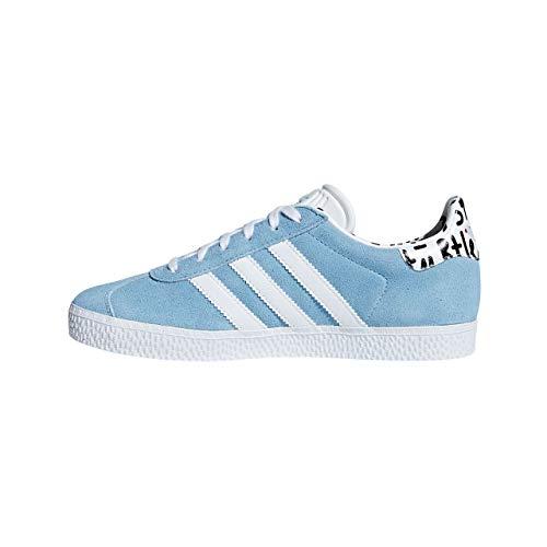 Ftwbla Gazelle Azucla J Adulte Bleu Adidas azucla Baskets Unisex 0 fqFFwxgp