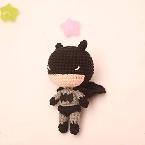 Amigurumi Barmy: Batman set   500x500