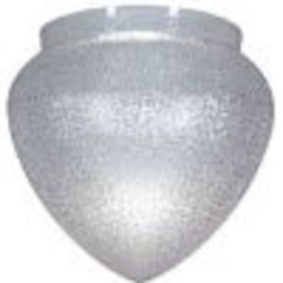 Textured Clear Acrylic Teardrop Lamp Post Globe with 10 Inch Neck by Lamp Post Globes etc. (Image #1)