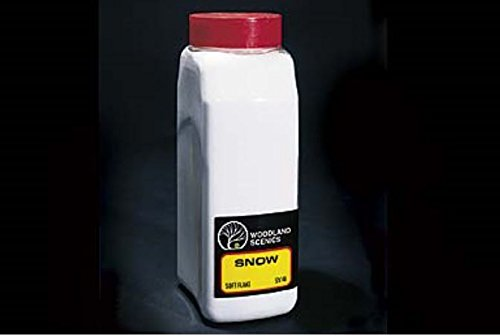 Soft Flake Snow Shaker, 57.7 in3 (Models Snow)