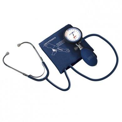 Tensiómetro manual aneroide con fonendoscopio incorporado, medidor de presi&oacute ...