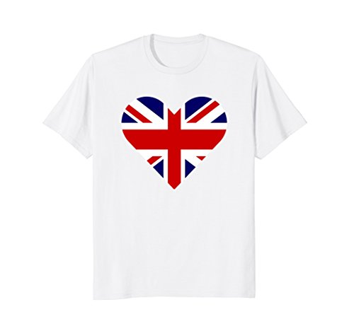(Union Jack Heart Shirt | Support The Royal Wedding 2018)