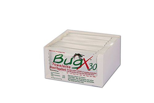 Bug X Insect Repellent Towelette, 2 Pack ()