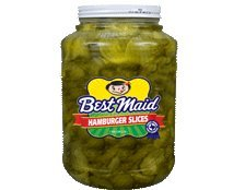 Best Maid Hamburger Slices 1 Gal (Best Pickles For Hamburgers)