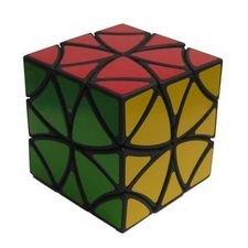 LanLan Curvy Copter Puzzle Cube Black
