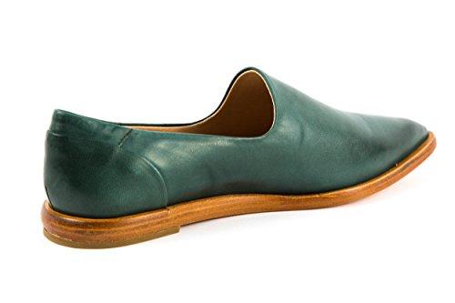 Neosens - Mocasines de Piel Lisa para mujer verde verde 37