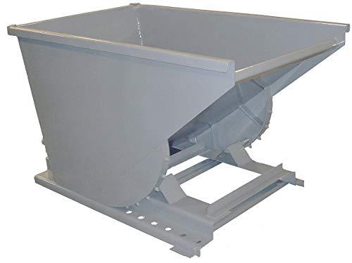 (Gray Self-Dumping Hopper, 8.1 cu. ft, 4000 lb. Load Cap, 32-1/2