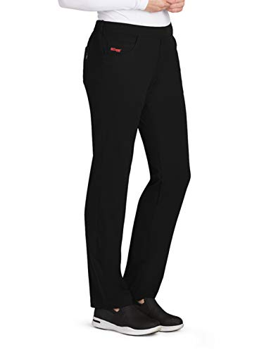 Grey's Anatomy GRSP510 Emma Solid Scrub Pant - Spandex Stretch Black XL Tall ()