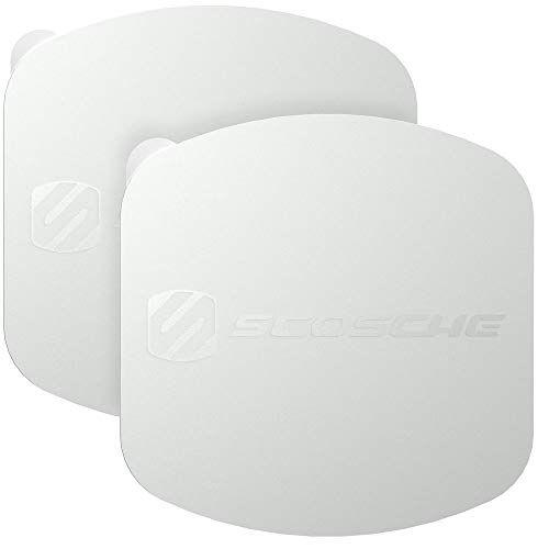 SCOSCHE MAGRKXLSRI MagicPlate XL Replacement Plates for ALL Scosche MagicMount XL Mounts – Silver