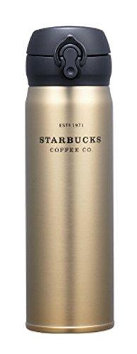 해외 한정 스타벅스 골드 헤리티지 텀블러 보온 보냉 보틀 스타벅스 Starbucks JNL Gold Heritage Thermos Tumbler 500ml   (골드)