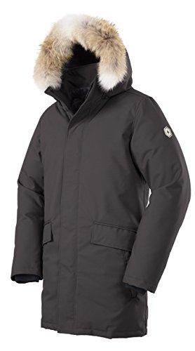 Quartz Co. Men's Champlain Jacket, Charcoal, XX-Large