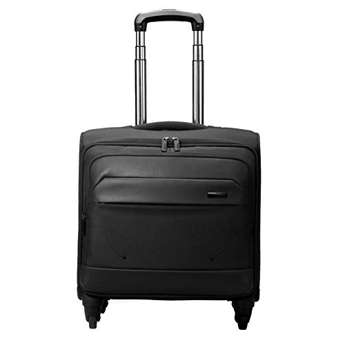 GYBY Trolley case, Administrative Laptop Wheel Protector Lightweight Briefcase Laptop partition Suitable for 14-17 inch Laptop-Black (1 Drawer Laptop Desk Reclaimed Wood Homestar)