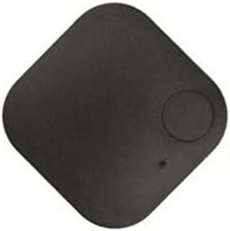 Noir Carr/é Anti-Perdu Car GPS Tracker Enfants Animaux Portefeuille Cl/és Alarme Localisateur en Temps R/éel Finder Trackr