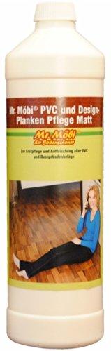 Mr.Möbi© PVC And Design-Planks Care Dull/Mat, 1 ltr. - First care and freshening of pvc and design-planks floors