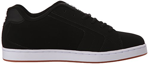 Mens DC Net SE Skate Shoe, Heather Black, 10.5D D US