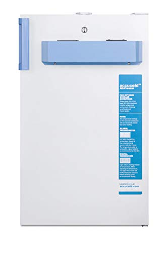 Summit FS407LBIMED2 Accucold 20 Inch Wide 2.8 Cu. Ft. Medical Freezer with Door Lock