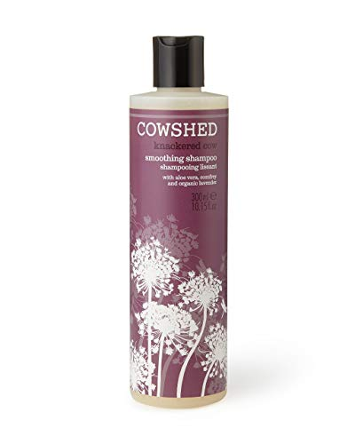 Cowshed Knackered Cow Smoothing Shampoo for Unisex, 10.15 Ounce