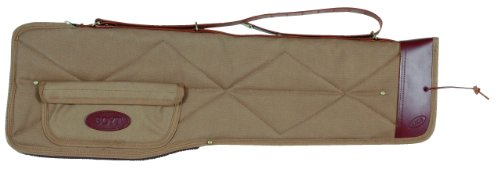 Boyt Harness Khaki Canvas Take-Down Case with Pocket (Large)